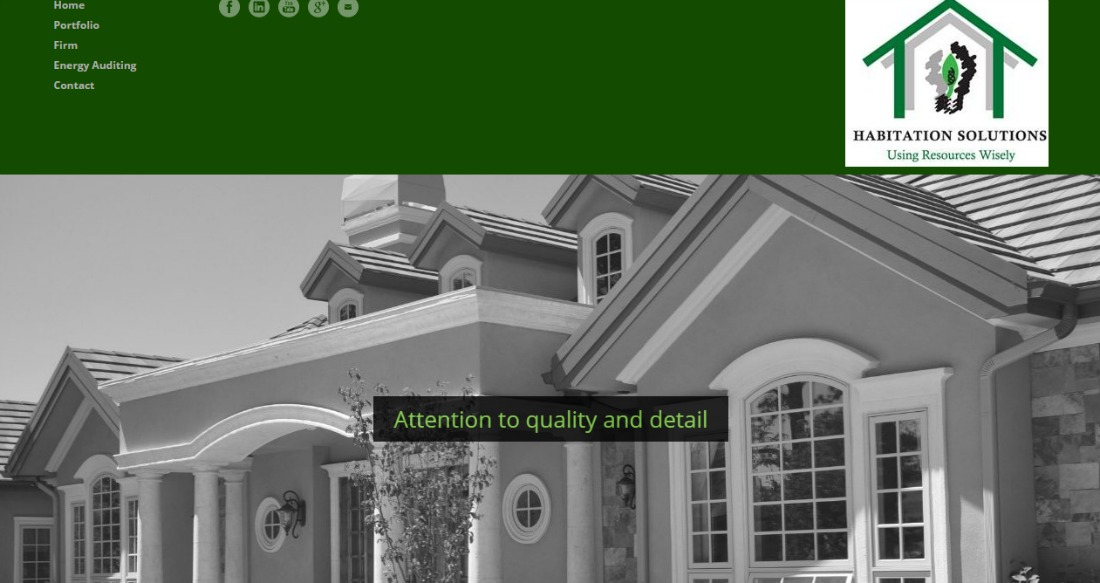 Architect Firm Website Redesign