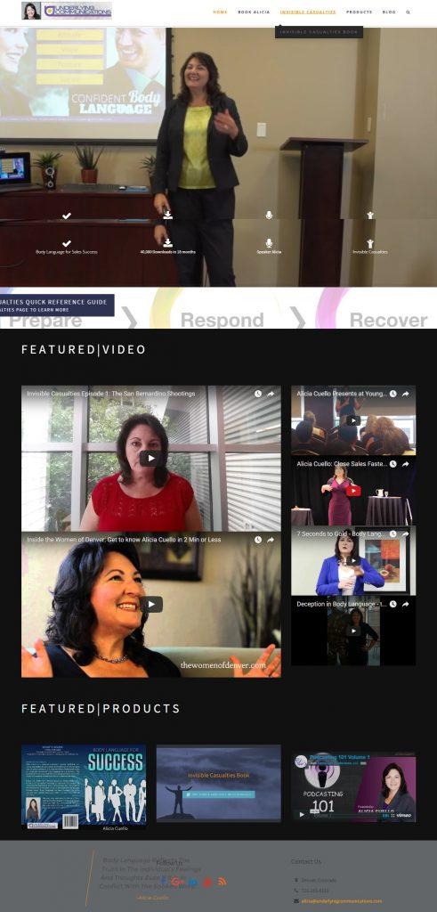 Alicia Cuello Body Language and HR Adversity Expert