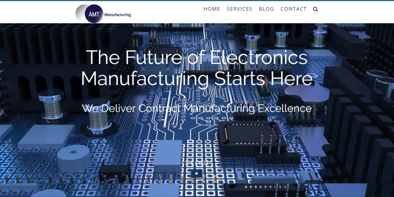 AMT Manufacturing Website By Veronica Cannady