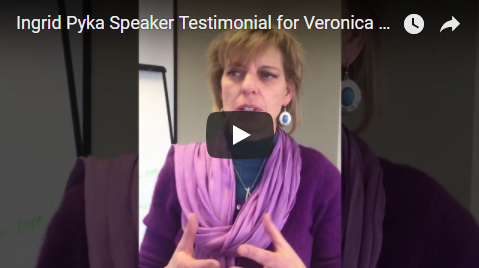 Ingrid Pyka Speaker Testimonial For Veronica Cannady