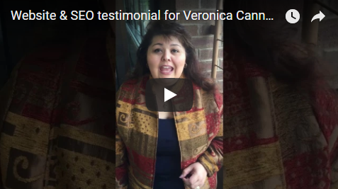 SEO And Corporate Web Design Testimonial For Veronica CAnnady