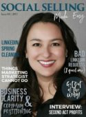 Social Selling Made Easy Magazine Cover